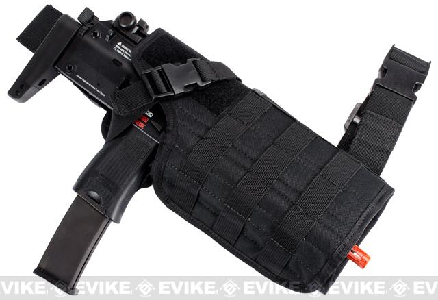 Phantom Gear MP7 MP5 MP9 SMG Thigh Leg Holster - Black