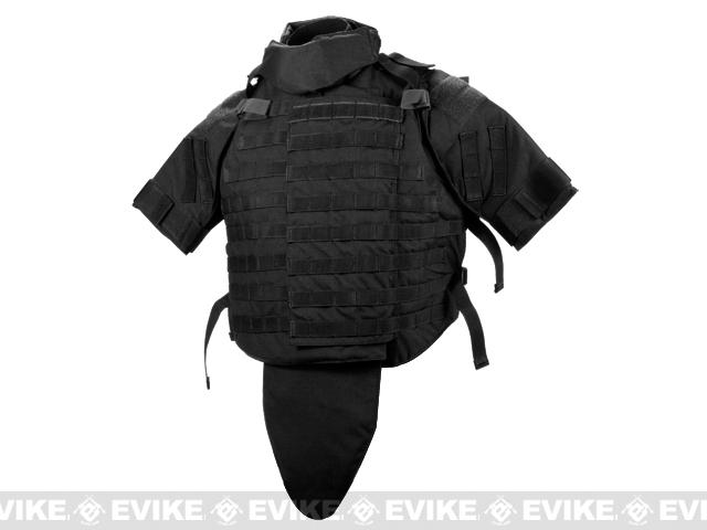 Phantom Interceptor Replica Modular OTV Body Armor / Vest - Extra Large (Black)