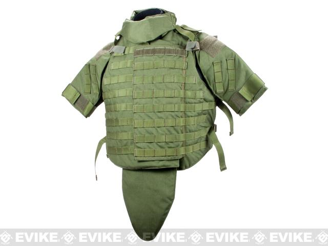 Phantom Interceptor Replica Modular OTV Body Armor / Vest - Medium (OD Green)