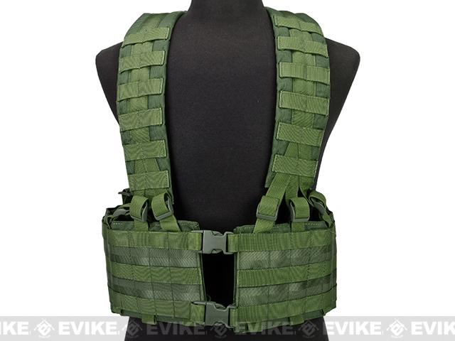 Phantom Gear Operator Load Bearing High Speed Chest Rig - OD Green