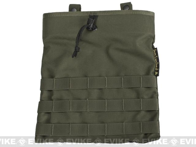 Phantom Level-3 High Speed Modular Tactical Dump Pouch - Ranger Green