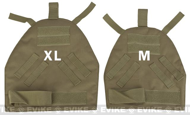 Phantom Gear Shoulder Guards for Interceptor OTV Body Armor / Vests - Digital Woodland (Medium)