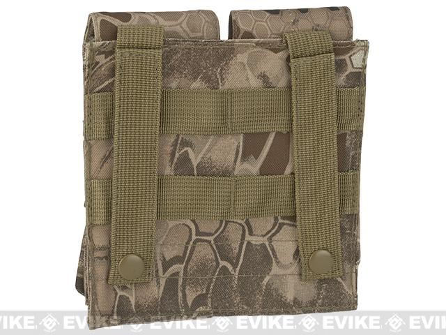 Matrix MOLLE Double M4/M16 Magazine Pouch - Dark Arid Serpent