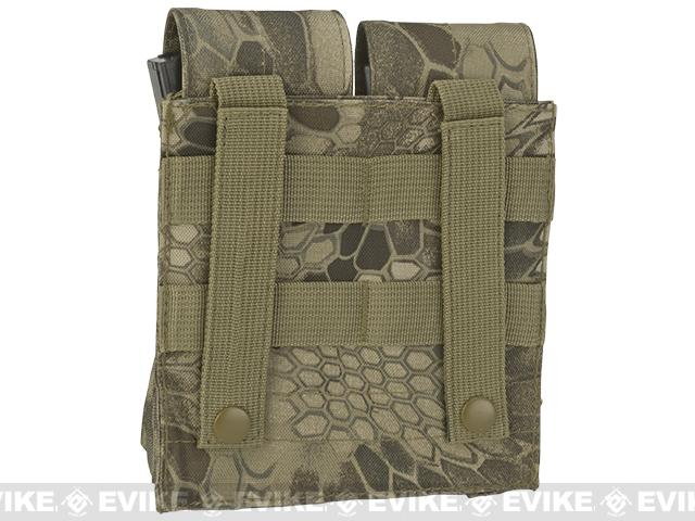 Matrix MOLLE Double M4/M16 Magazine Pouch - Desert Serpent