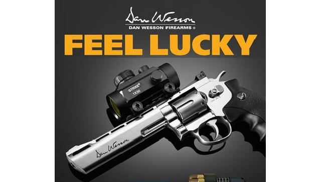Dan Wesson CO2 6 High Power Airsoft 6mm Magnum Gas Revolver by ASG - Silver