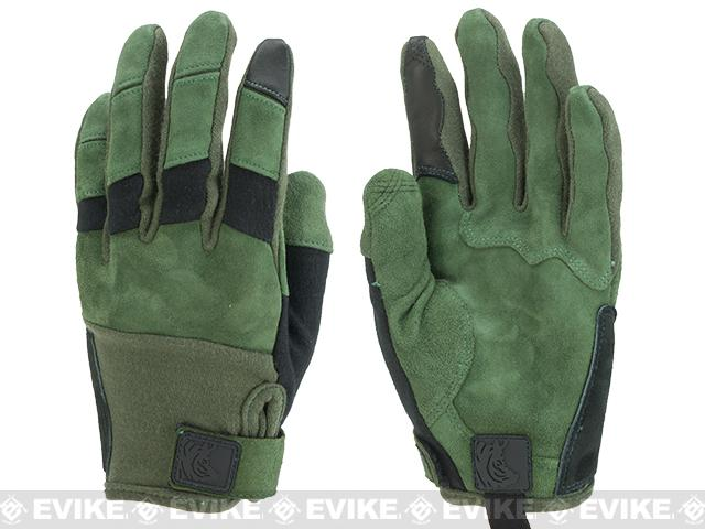PIG Full Dexterity Tactical (FDT) Bravo Fire Resistant Gloves - Ranger Green (Size: Small)