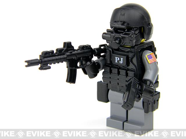Battle Brick Customs Military Mini-Figure - U.S. Air Force Para Rescue PJ