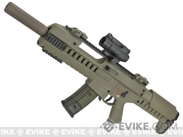GSG Tactical G14 Carbine Electric Blowback AEG by SoftAir - Tan (Package: Rifle Only)
