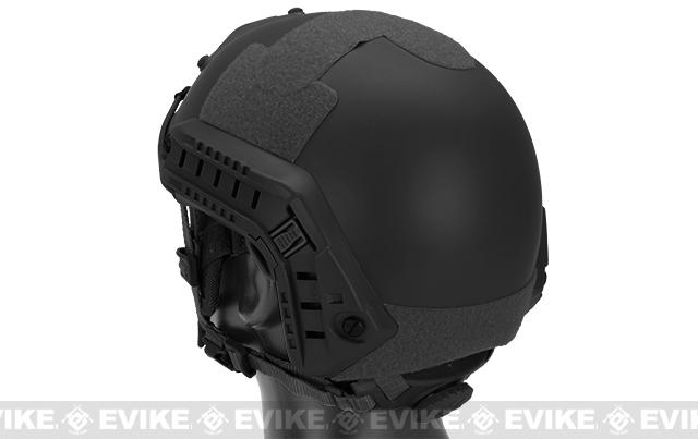 6mmProShop Bump Type Airsoft Helmet (MICH Ballistic Type / Advanced) - Package - Black