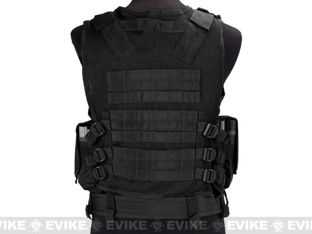 Airsoft Zombie Hunter Starter's Tactical Vest Package - Black