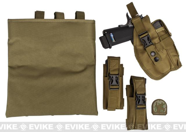 Airsoft Zombie Hunter Starter's Tactical Vest Package - Tan