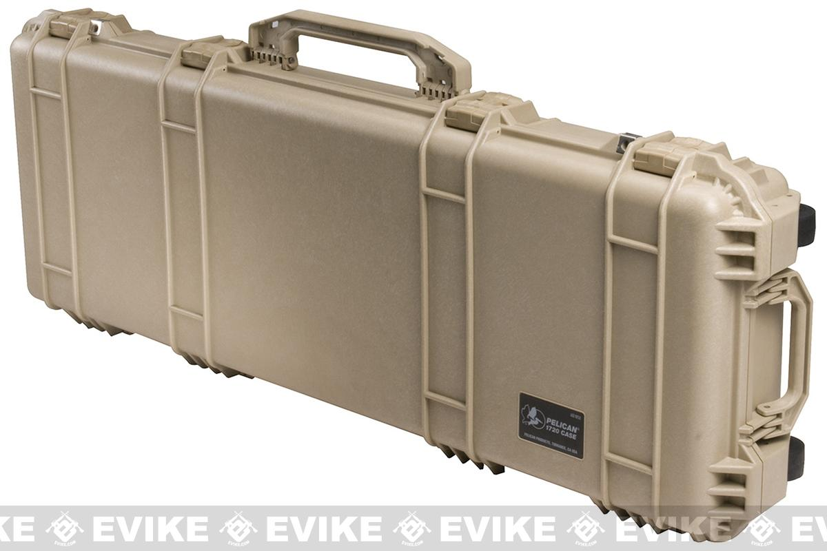 Pelican™ 1700 WL/WF Long Rifle Case w/ Wheels - Desert Tan