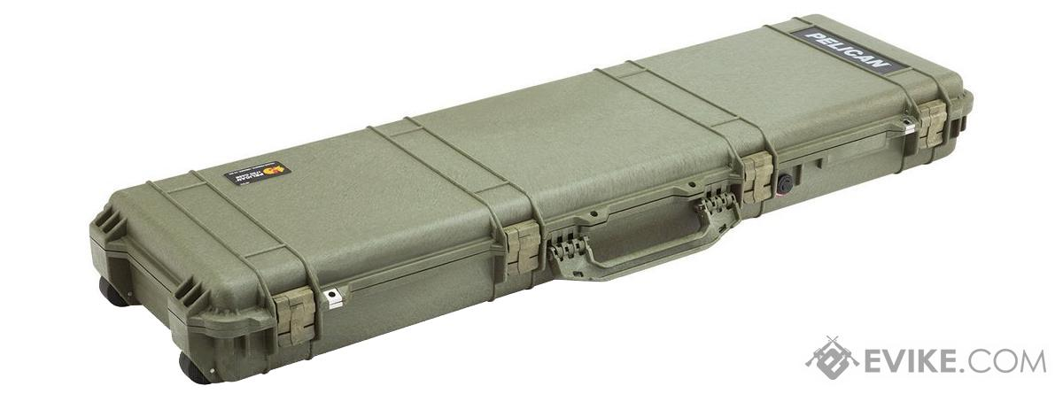 Pelican™ 1750 WL/WF Long Rifle Case w/ Wheels - OD Green