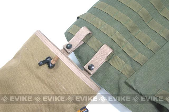 Phantom High Speed Belt / MOLLE Magazine Dump Pouch (Foldable) - Woodland Camo