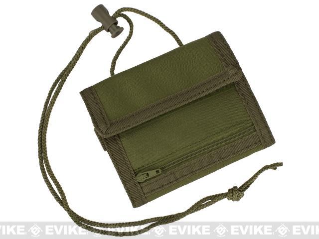 z Condor VAULT Tri-Fold Wallet - OD Green