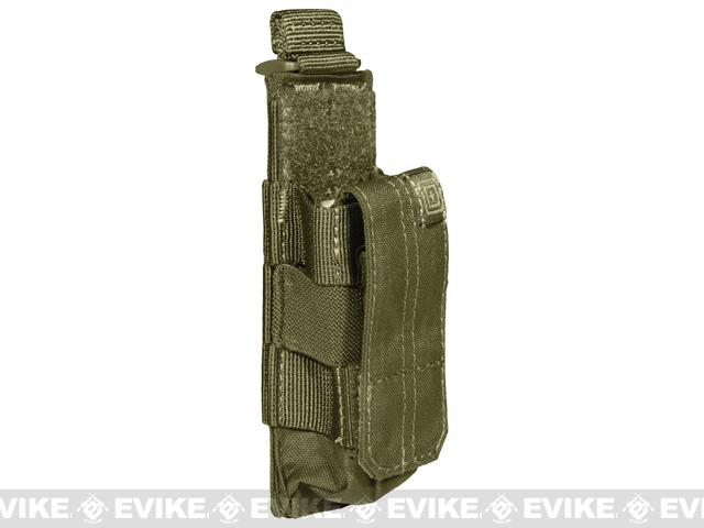 5.11 Tactical Single Pistol Bungee Cover Magazine Pouch - Tac OD