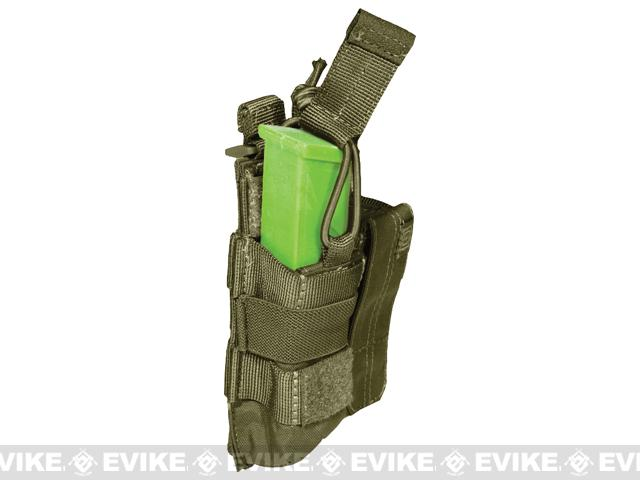 5.11 Tactical Double Pistol Bungee Cover Magazine Pouch - Tac OD