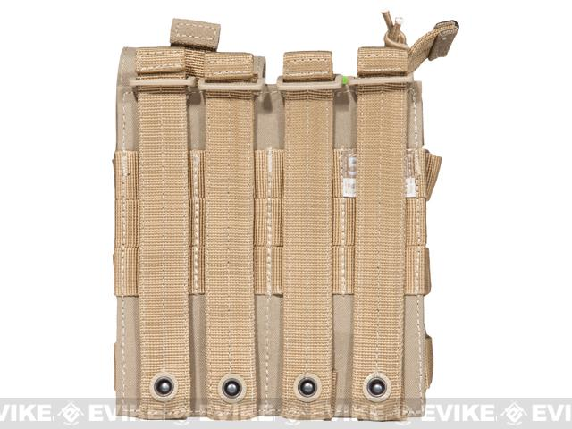 5.11 Tactical AR Double Bungee Cover Magazine Pouch - Sandstone