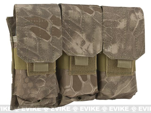 Matrix Triple M4 / G36 MOLLE Ready Magazine Pouch  - Dark Arid Serpen