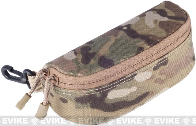 Condor MOLLE Sunglasses / Shooting Glasses Protective Carry Case - Multicam