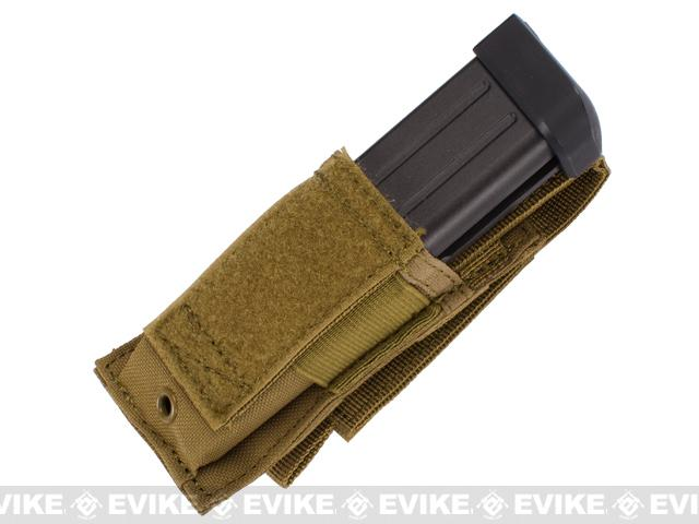 Condor MOLLE Ready Single Pistol Magazine Pouch - Tan