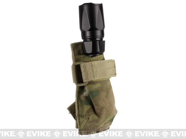 Condor MOLLE Adjustable Flashlight Pouch - Multicam