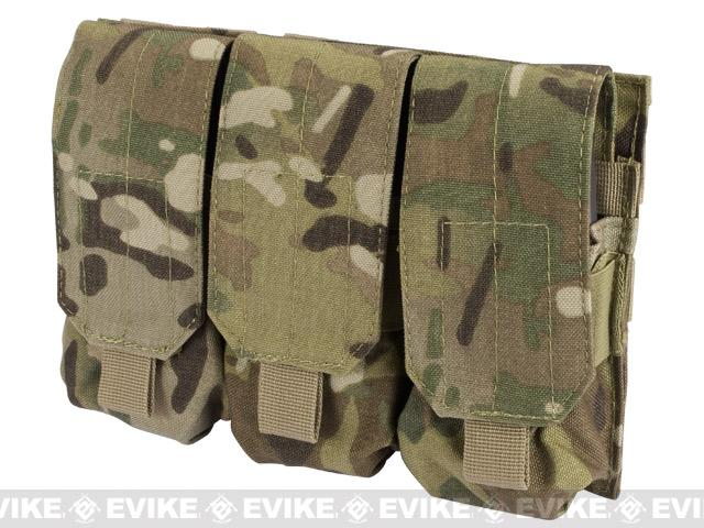 Triple M4 / G36 MOLLE Ready Magazine Pouch by Phantom - Multicam