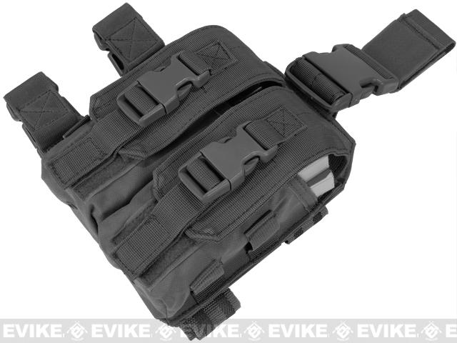 Condor Tactical Drop Leg M4 Magazine Pouch - Black