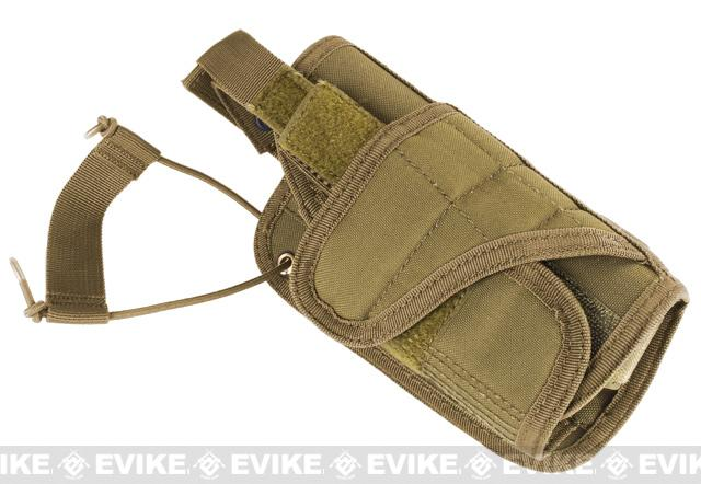 Condor Horizontal MOLLE Ready Holster - Coyote Tan