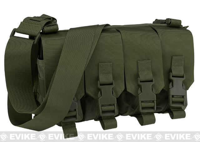 Gryffon Tactical USMC Low Profile Operator Quad Magazine Rig - OD Green