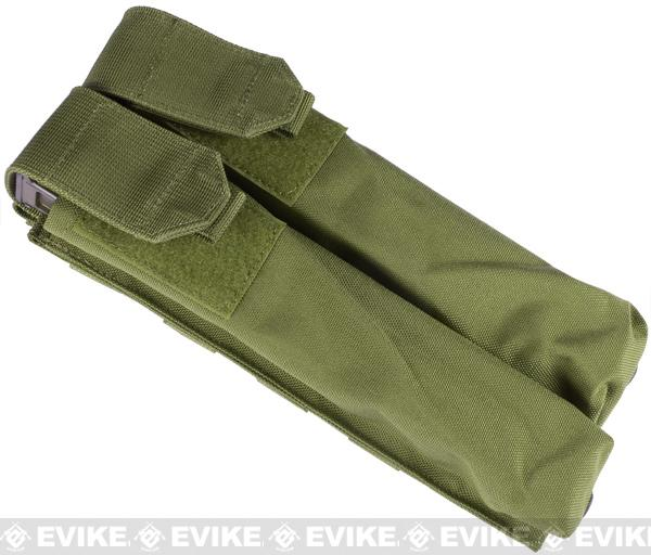 Dual Magazine Pouch for Airsoft P90 - (OD Green)