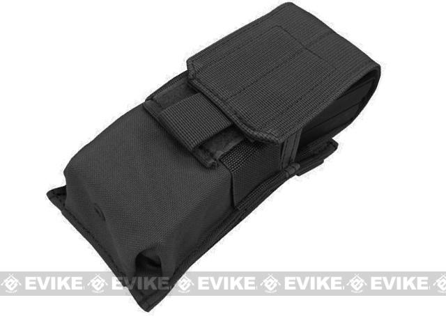 Tactical MOLLE Ready Tactical M4 M16 Magazine Pouch by Phantom Gear - Black