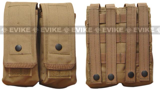 Condor Modular MOLLE Double G36 AK M4 Magazine Pouch - Black