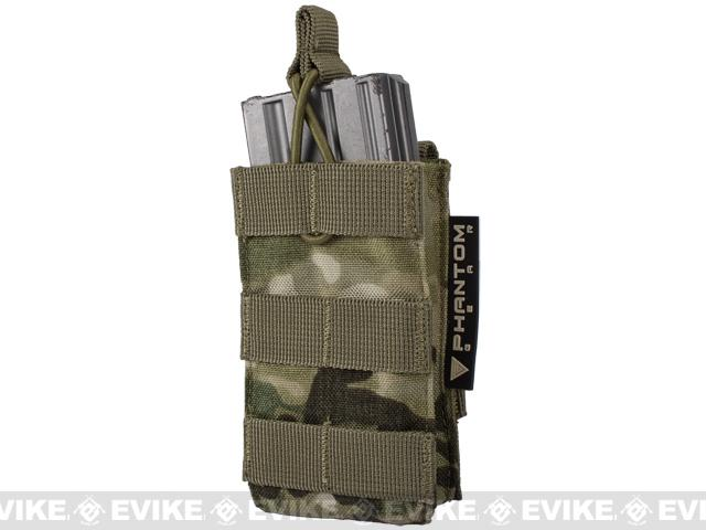 CP Licensed Single M4/M16 Open Top Molle System Ready Mag Pouch by Condor - Multicam