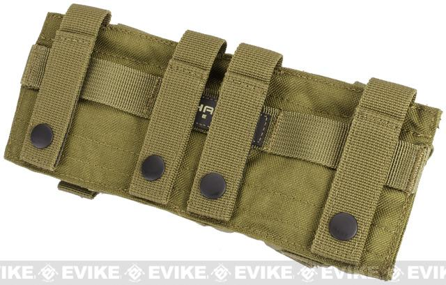 Phantom Gear Triple Frag Grenade MOLLE Ready Pouch - OD Green