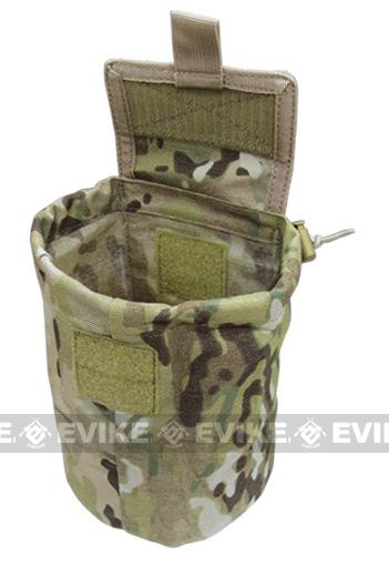 Crye Precision Licensed MOLLE Roll-Up Utility / Dump Pouch (Multicam Pattern)