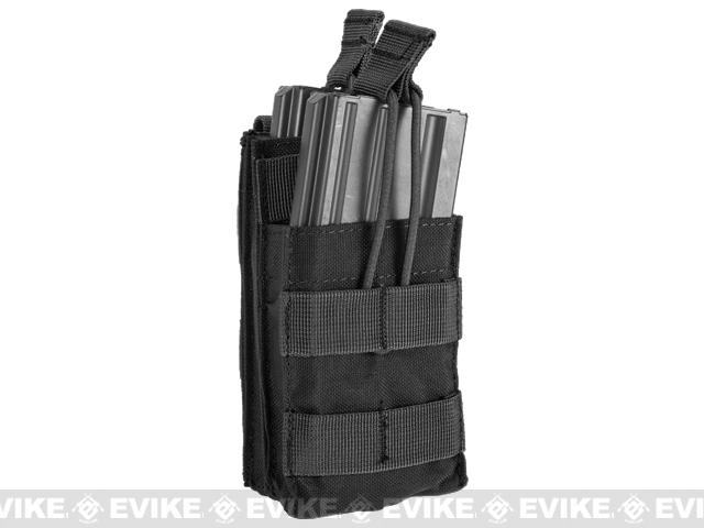 Condor Single M4 / M16 Open-Top Stacker Mag Pouch - Black