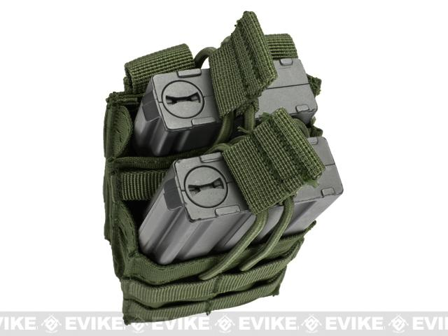 Condor Single M4 / M16 Open-Top Stacker Mag Pouch - OD Green