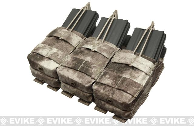 Condor Tactical MOLLE Triple Stacker M4 Mag Pouch - A-TACS