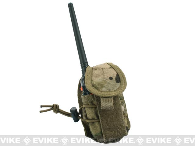 Phantom Gear MOLLE Multi-Purpose Handheld FRS Radio MOLLE Pouch - Multicam