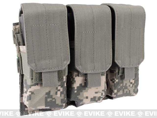Triple M4 / G36 MOLLE Ready Magazine Pouch by Condor / Phantom - ACU