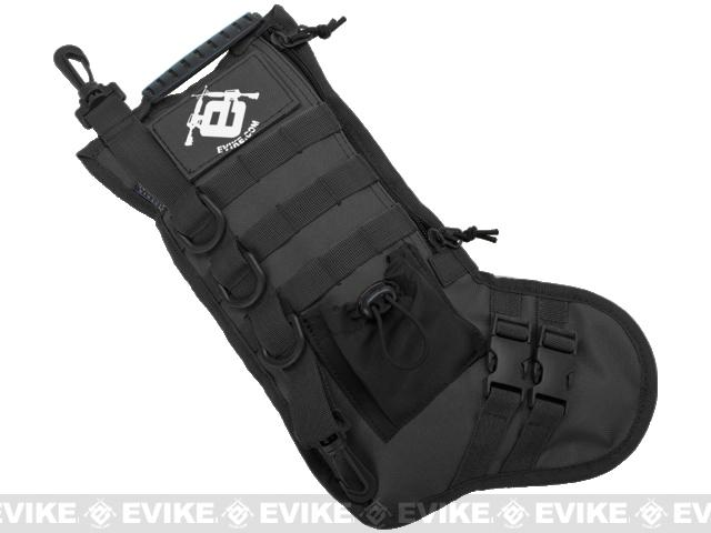Evike.com High Speed Operator Stocking / Accessory Pouch (Color: Black)