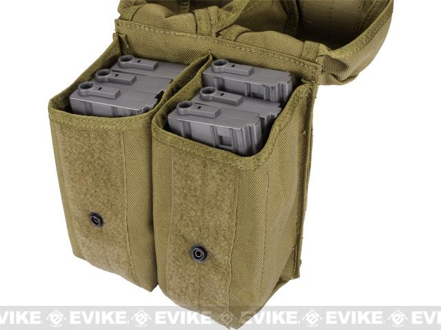 Pre-Order ETA September 2016 Phantom MOLLE AK M4 G36C Dual-Double Magazine Pouch - Tan