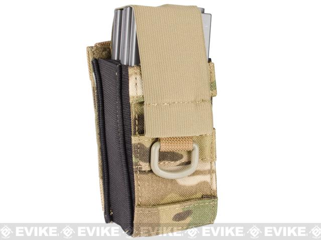 Black Owl Gear / Phantom Aggressor MOLLE Ready M4 AK MP5 Magazine Pouch - Single (Color: Multicam)