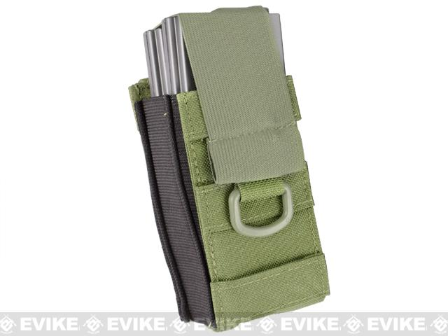 Phantom Aggressor MOLLE Ready M4 AK MP5 Magazine Pouch - Single / OD Green