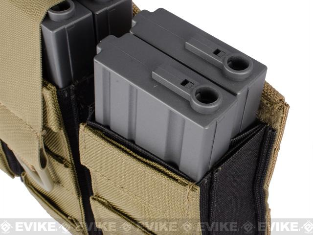 Phantom Aggressor MOLLE Ready M4 AK MP5 Magazine Pouch - Double / OD Green