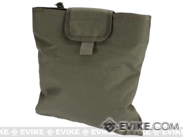 Black Owl Gear / Phantom Gear Dump Pouch w/ Lid (Color: Ranger Green)