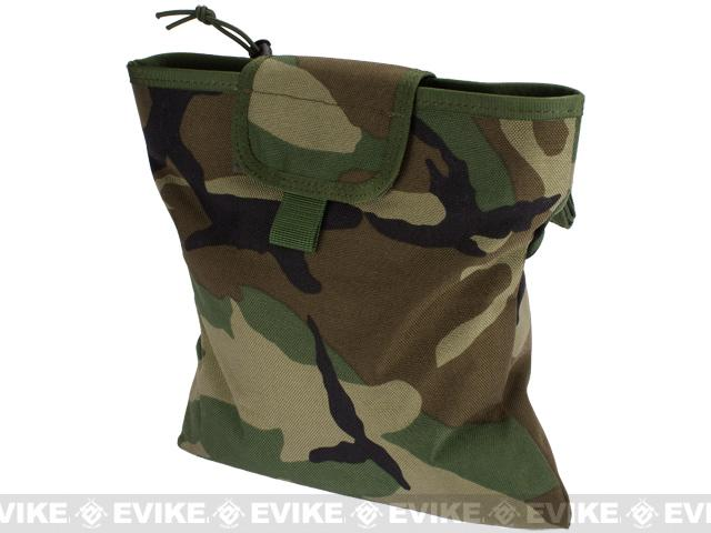 Black Owl Gear / Phantom Gear Dump Pouch w/ Lid (Color: Woodland)