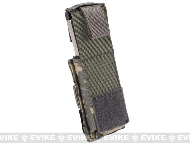Phantom Gear MOLLE Hard Shell Quick Draw Pistol Magazine Pouch - ACU