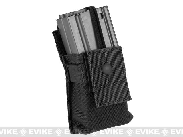 Black Owl Gear / Phantom Gear MOLLE High Speed Magazine Pouch (Color: Black)